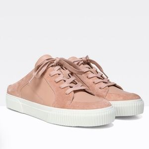 Vince Kess leather and suede sneakers